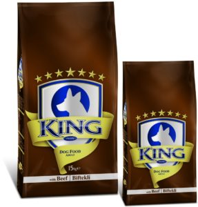 king plus adult dog food
