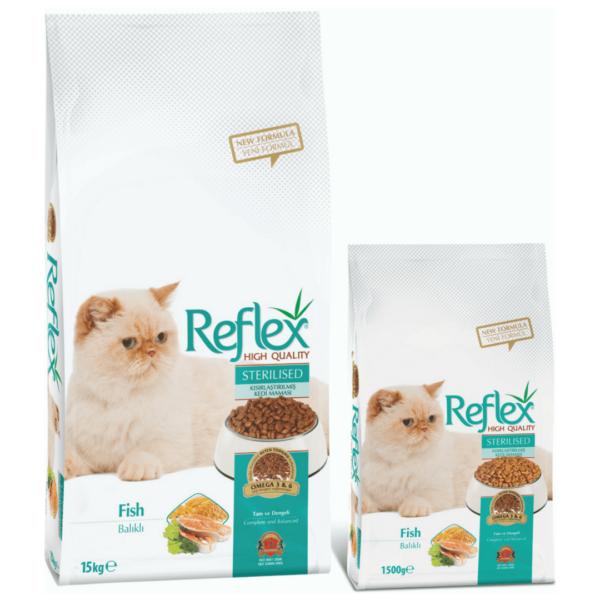 Reflex Adult Cat food Sterilised Fish