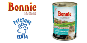 Bonnie Adult Cat - Canned Salmon Trout TW