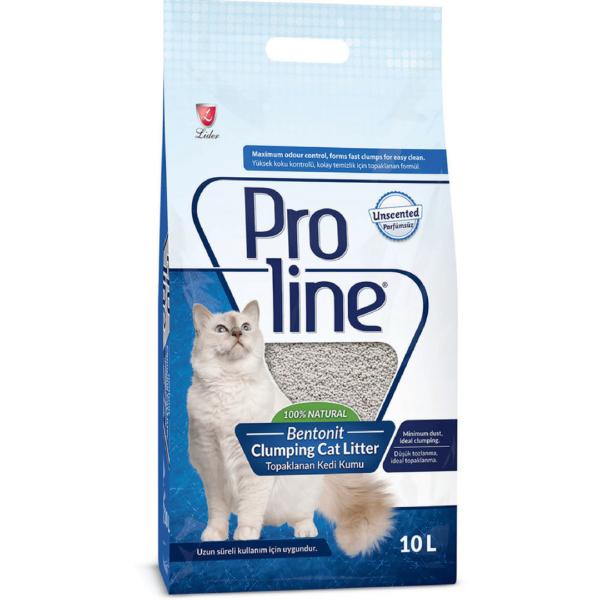 ProLine Bentonite Cat Litter Unscented 10L