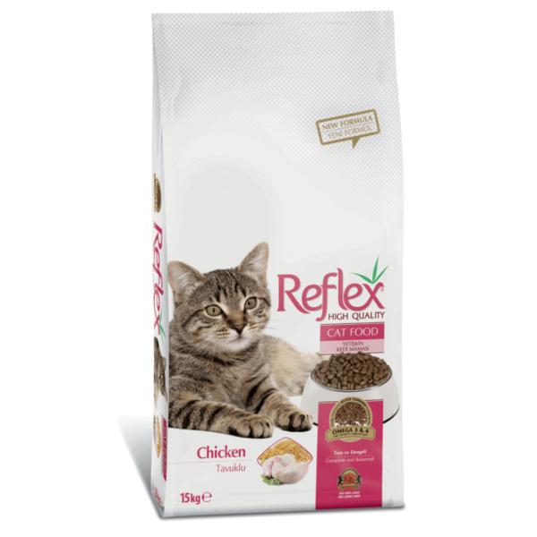Reflex Adult Cat Chicken 15kg 1080×1080-min