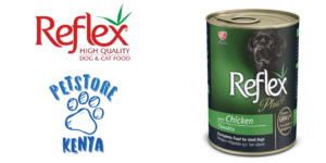 Reflex - dog canned chicken chunks gravy TW-min