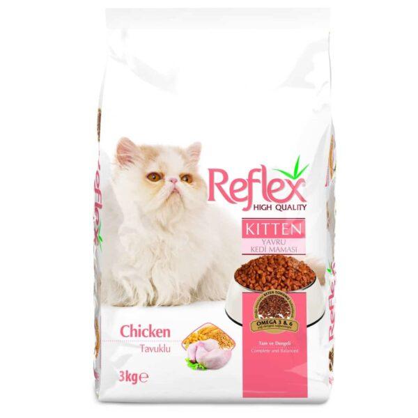 Reflex Kitten Chicken 3kg 1080 x 1080