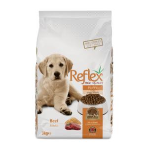 Reflex Premium Puppy Food - Beef 3kg