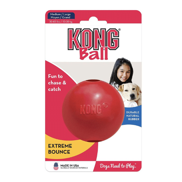 KONG Ball with hole Med/Large