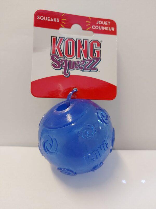 KONG® Squeezz Ball - Blue