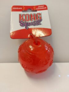KONG Squeeze Ball - Red