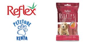 Reflex Puppy Beef Strips Treat-min