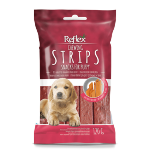 Reflex Puppy Beef Strips Treat