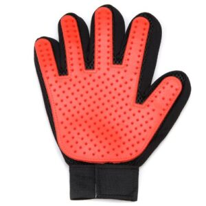 Pet Grooming Glove Red Right PGGRRH